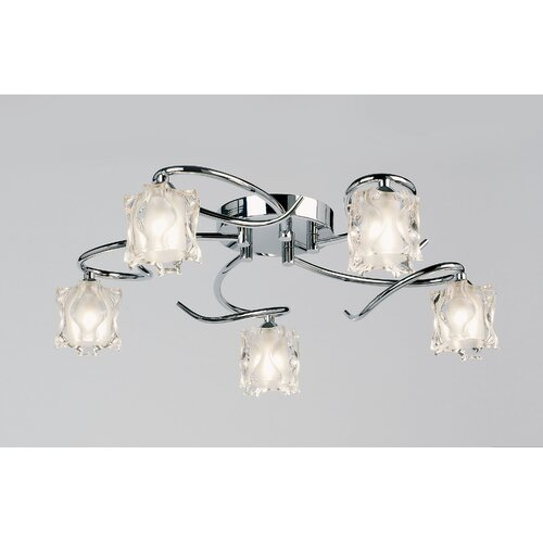 Endon Lighting Picado 5 Light Semi Flush Light