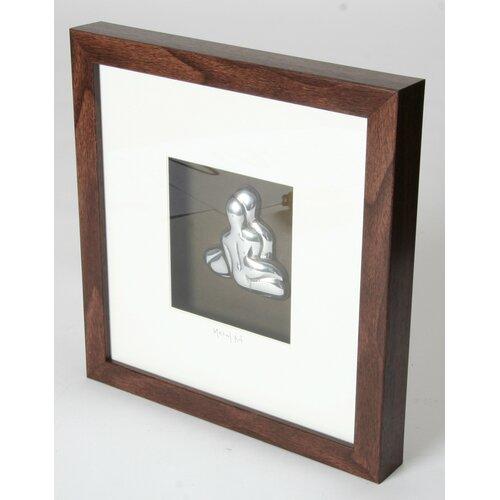 Metal Art Nude Couple Wood Box Frame