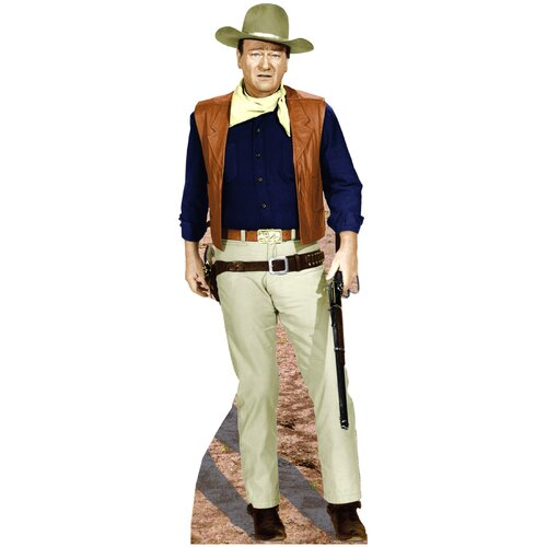 Advanced Graphics Cardboard Hollywood's Wild West John Wayne - Rifle at Side Standup