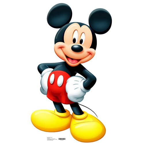 Advanced Graphics Mickey Mouse Life-Size Cardboard Stand-Up