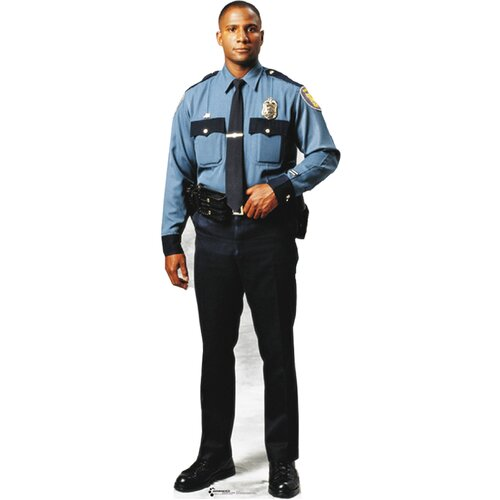 Modern Heroes Policeman Walljammers Wall Decal
