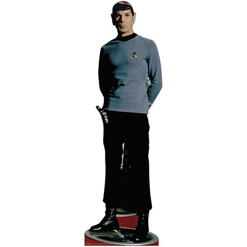 Advanced Graphics Star Trek Spock Classic Cardboard Stand-Up