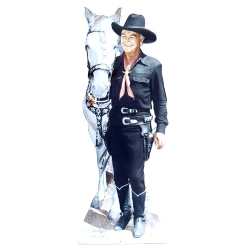 Advanced Graphics Hopalong Cassidy Cardboard Stand-Up