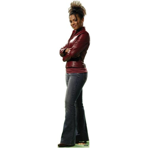 Advanced Graphics Dr. Who Martha Jones Cardboard Stand-Up