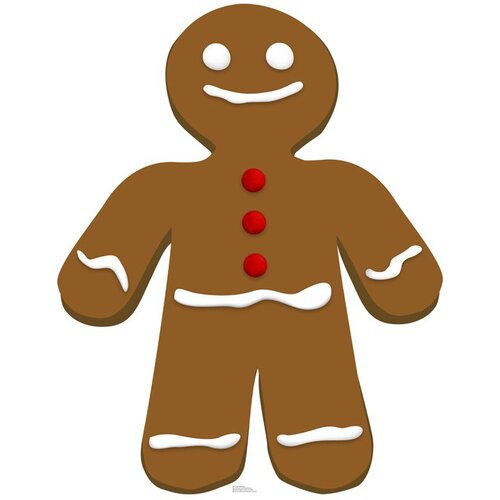 Advanced Graphics Christmas Gingerbread Man Cardboard Stand-Up