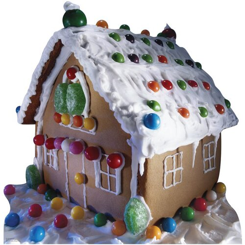 Advanced Graphics Christmas Ginger Bread House Cardboard Stand-Up