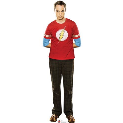 Advanced Graphics Big Bang Theory Sheldon Cardboard Stand-Up