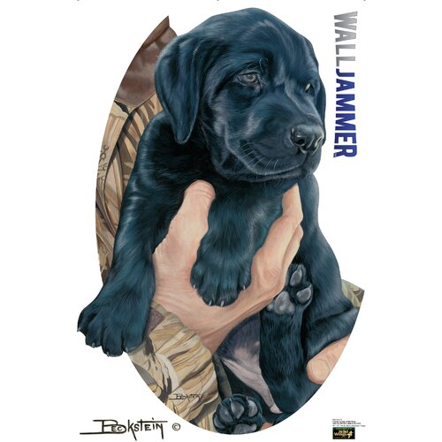 Advanced Graphics Cabela's Labrador Puppy Wall Decal