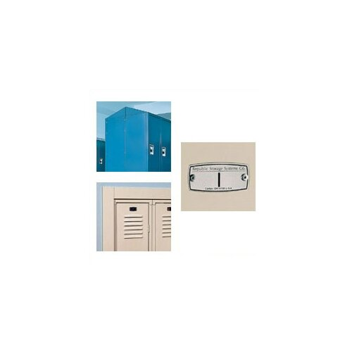 Republic 4 Wide Wall Hung Locker