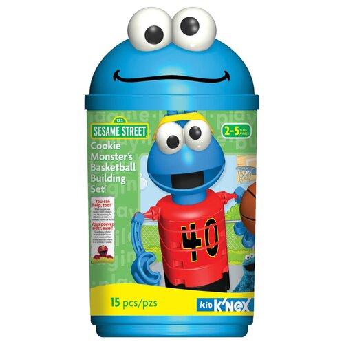 K'NEX Sesame Street Cookie Monster's Basketball Building Set