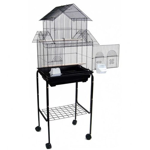 YML Pagoda Small Bird Cage with Stand