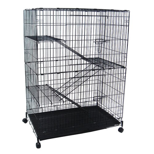 4-Level Small Animal Cage