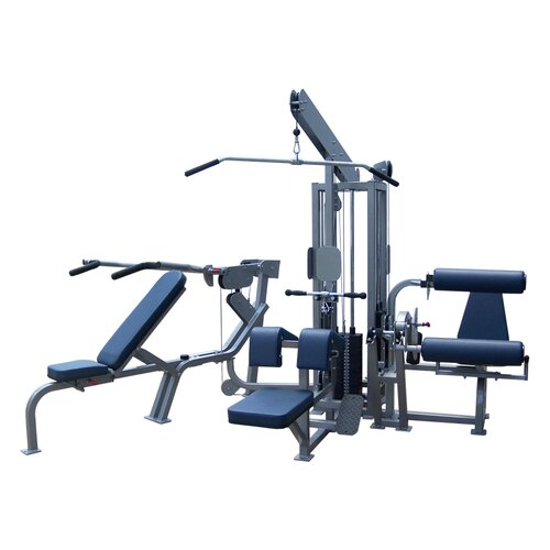 Q-400 Series Multi-Station Commercial 4 Stack Home Gym Set