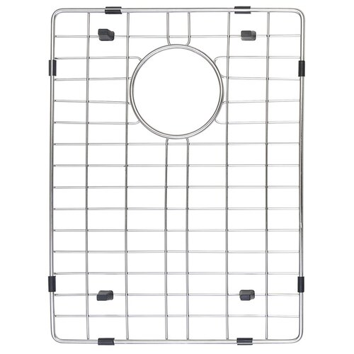 "Kraus Stainless Steel 16.5"" x 12.5"" Bottom Grid"