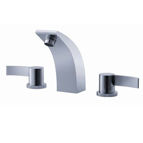 Kraus Bathroom Combos Widespread Illusio Faucet with Double Handles