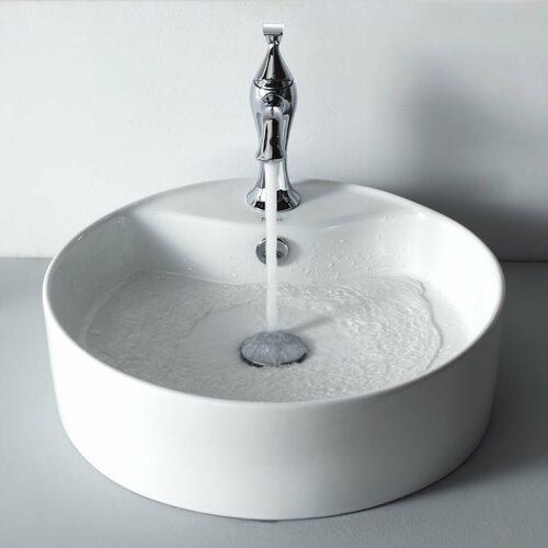 Ventus Single Hole Basin Faucet with Single Handle