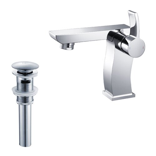 Bathroom Combos Single Hole Sonus Faucet with Single Handle and Pop-Up Drain