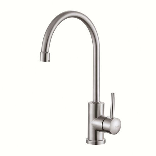 "Kraus Stainless Steel 20"" x 17.75"" Undermount Single Bowl Kitchen Sink with 14"" Kitchen Faucet and Soap Dispenser"