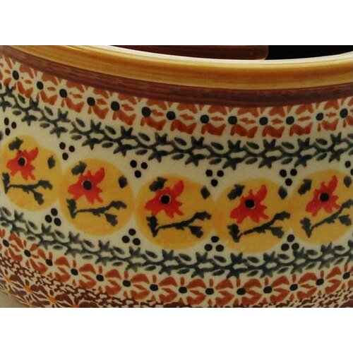 Euroquest Imports Polish Pottery 48 oz Tureen with Cover