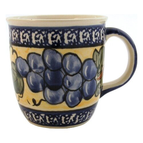 Euroquest Imports Polish Pottery 12 oz. Mug