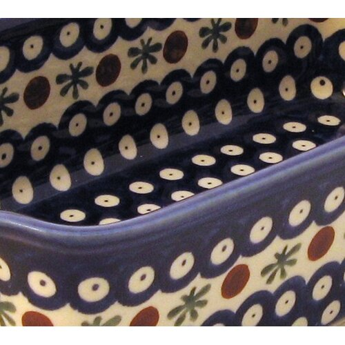"Euroquest Imports Polish Pottery 10.5"" Loaf Pan"