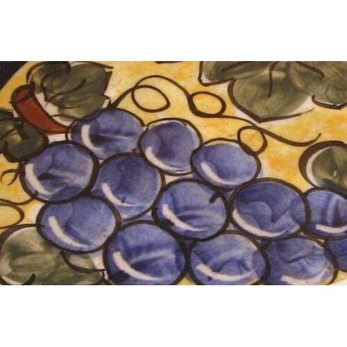 "Euroquest Imports Polish Pottery 11"" Oval Baking Pan"
