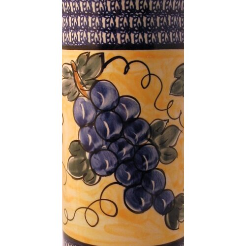 Euroquest Imports Polish Pottery Traditional Pattern DU8 Vase