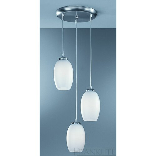 Dar Lighting Soho 3 Light Kitchen Island Pendant Light
