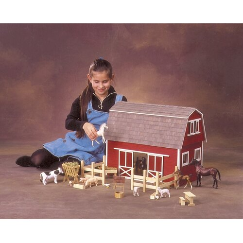 Real Good Toys Barn, Stores and Mouse House Ruff 'n Rustic All American Barn Dollhouse