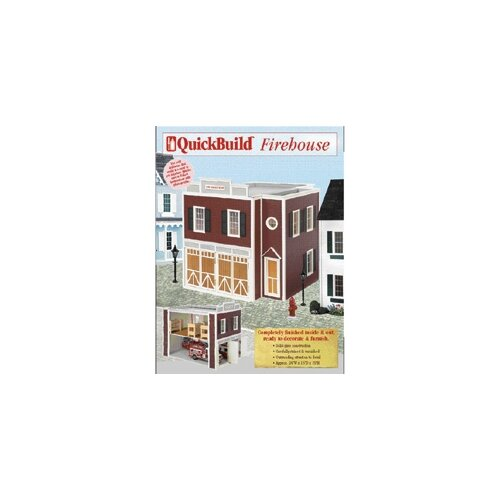 Quickbuild Kits Firehouse Dollhouse