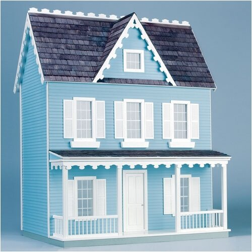 Finished & Ready to Play Doll House Junior Vermont Farmhouse