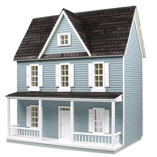 Real Good Toys Finished & Ready to Play Dollhouse 0.5 Scale Farmhouse