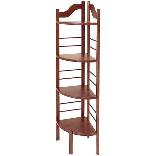 manchester wood corner baker s rack reviews wayfair