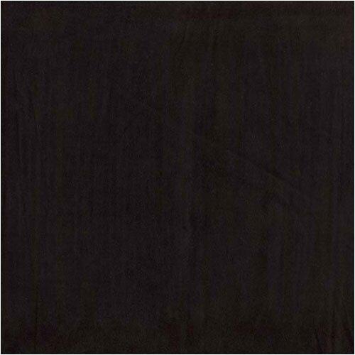 Premium Suede Black Square Pillow (Machine Washable)