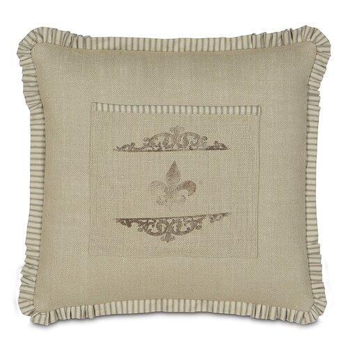French Country Coffee Fleur de Lis Pillow