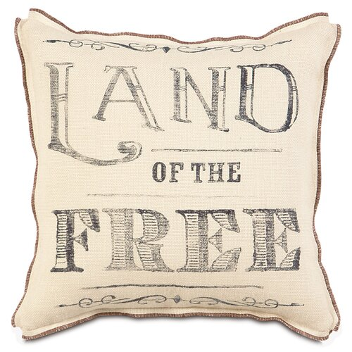Americana Land of the Free Pillow