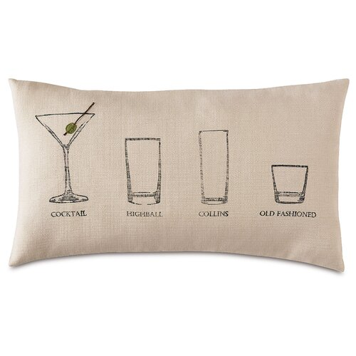 Man Cave Have a Cocktail Pillow