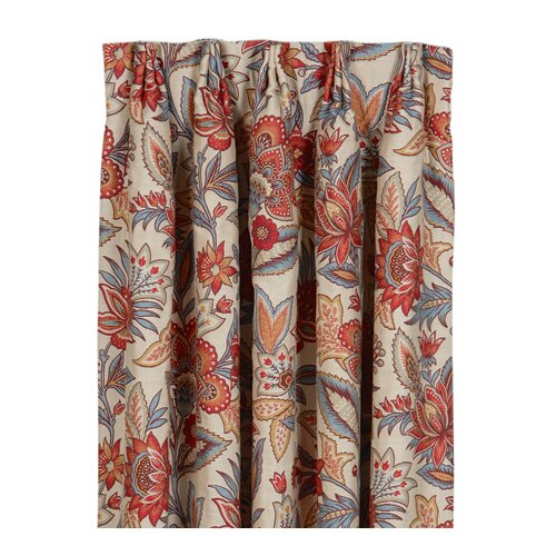 Eastern Accents Corinne Drapery Rod Pocket Curtain Single Panel