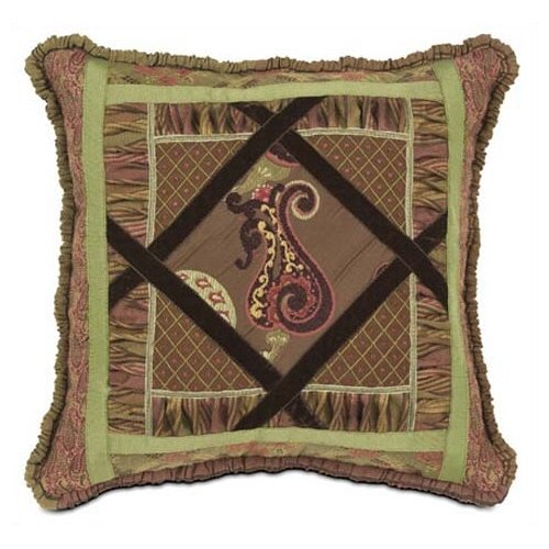 Eastern Accents Amelie Diamond Collage Pillow