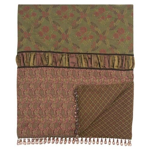 Amelie Dahlia Throw with Candace Ends