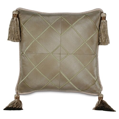 Marbella Veneta Mist Pillow with Cord and Tassels