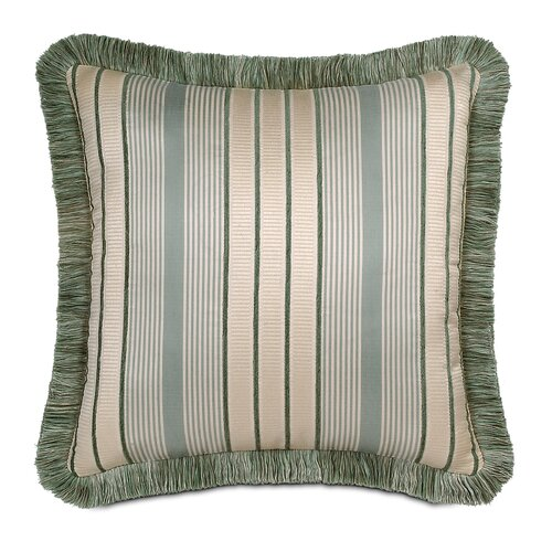 Carlyle Polyester Luxembourgh Spa Decorative Pillow with Brush Fringe