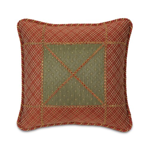 Glenwood Quentin Bordered Decorative Pillow