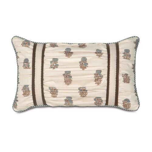 Kira Latika Cornflower Ruched Decorative Pillow