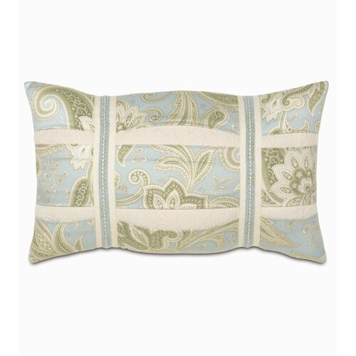 Eastern Accents Southport Polyester Decorative Pillow with Pleats