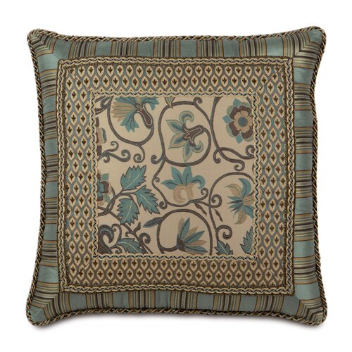 Eastern Accents Chapman Polyester Danville Sea Border Collage Decorative Pillow