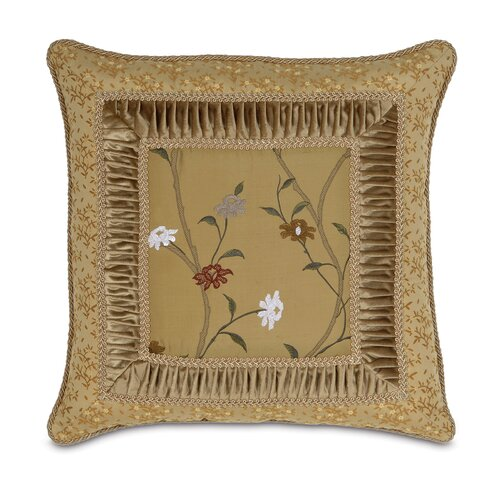 Eastern Accents Gabrielle Border Collage Decorative Pillow