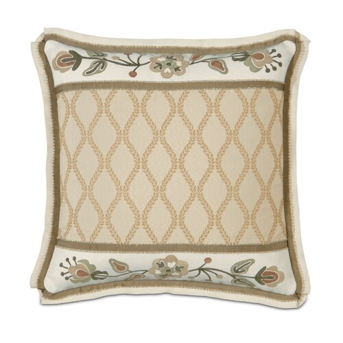 Gallagher Griffin Hand Painted Insert Decorative Pillow