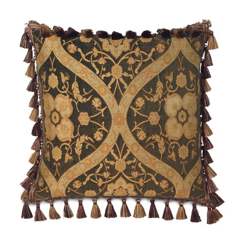 Garnier Tassel Trim Decorative Pillow