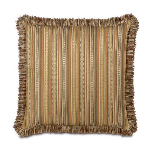 Eastern Accents Kiawah Currituck Shell Brush Fringe Decorative Pillow